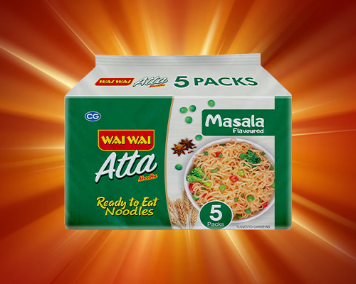 Atta Noodle Masala Flavored Packet Of 5